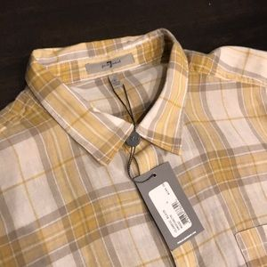 NWT 7 For All Mankind Button Down